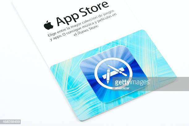 Apple App Store card