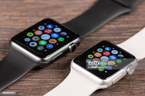 Apple black and white Watches