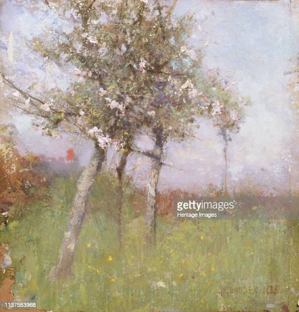 Apple blossom 1885 Artist George Clausen