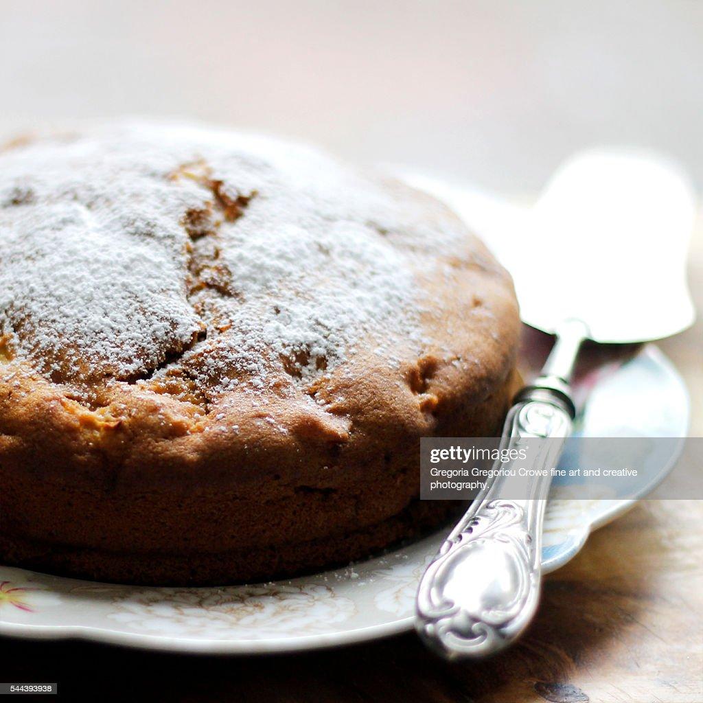 Apple Cake : Stock Photo