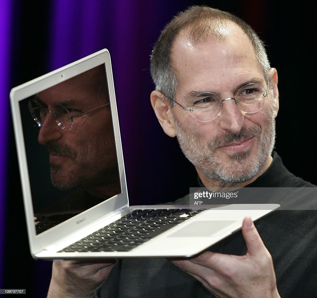Apple CEO and co-founder Steve Jobs show : News Photo