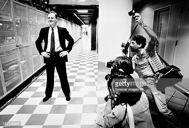Apple CEO John Sculley is photographed in 1990 in Fremont California SELECTED FOR 2012 VISA POUR L'IMAGE EXHIBIT IN PERPIGNAN