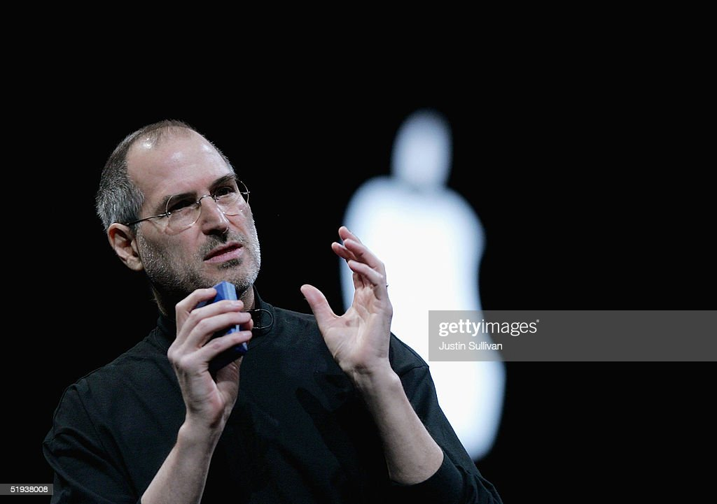 Apple CEO Steve Jobs Delivers Opening Keynote At Macworld : News Photo