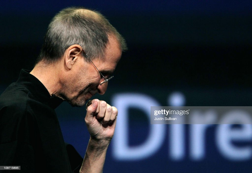 Apple CEO Steve Jobs speaks during an Apple Special event to unveil the new iPad 2 at the Yerba Buena Center for the Arts on March 2, 2011 in San Francisco, California. Apple unveiled the iPad 2 as the successor to its popular tablet, the iPad.