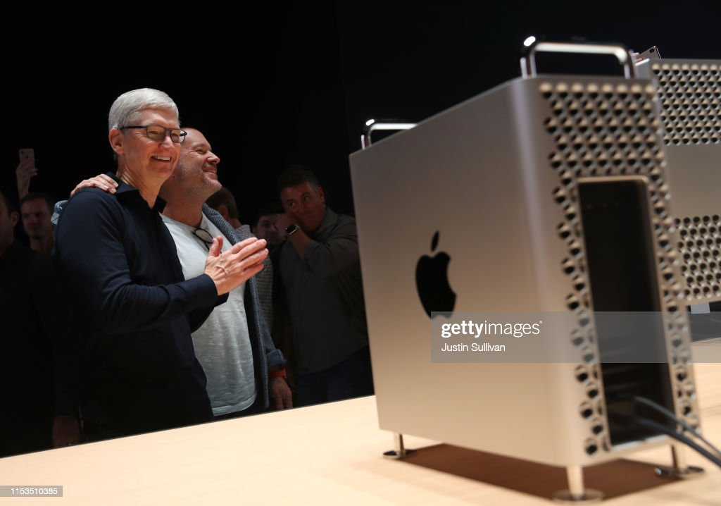 Apple CEO Tim Cook Delivers Keynote At Annual Worldwide Developers Conference : News Photo