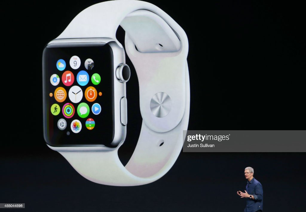 Apple Unveils iPhone 6 : News Photo