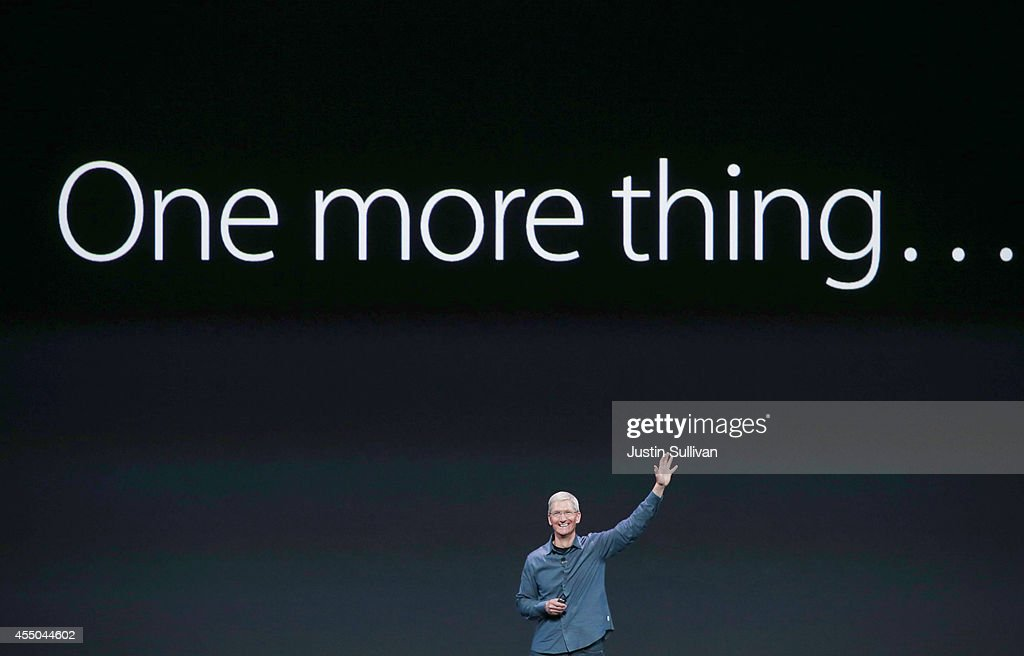 Apple Unveils iPhone 6 And Apple Watch