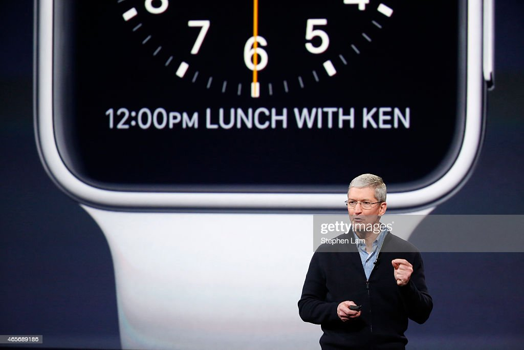Apple Debuts New Watch : News Photo