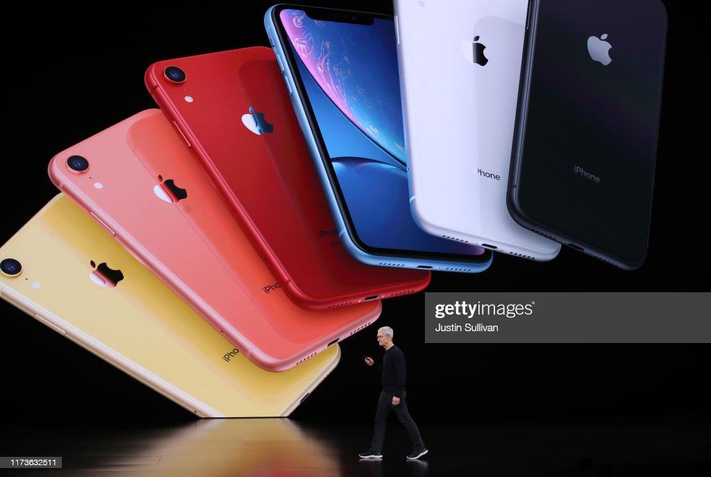 Apple Unveils New Product Updates At Its Cupertino Headquarters : Fotografía de noticias