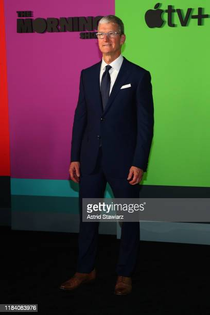 Apple Ceo Tim Cook attends Apple TV's The Morning Show World Premiere at David Geffen Hall on October 28 2019 in New York City