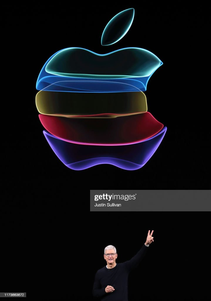 Apple Unveils New Product Updates At Its Cupertino Headquarters : News Photo