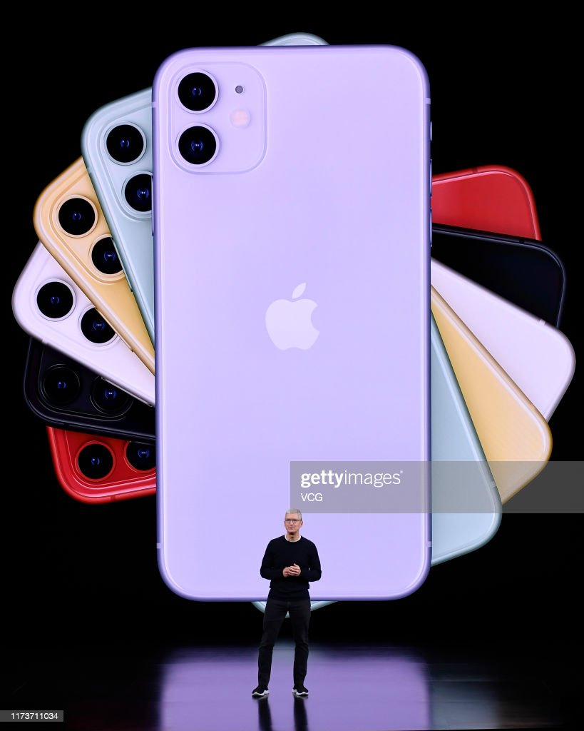 Apple Unveils iPhone 11 And iPhone 11 Pro At Its Cupertino Headquarters : News Photo