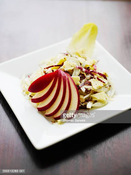Apple chop salad with apple cider vinaigrette
