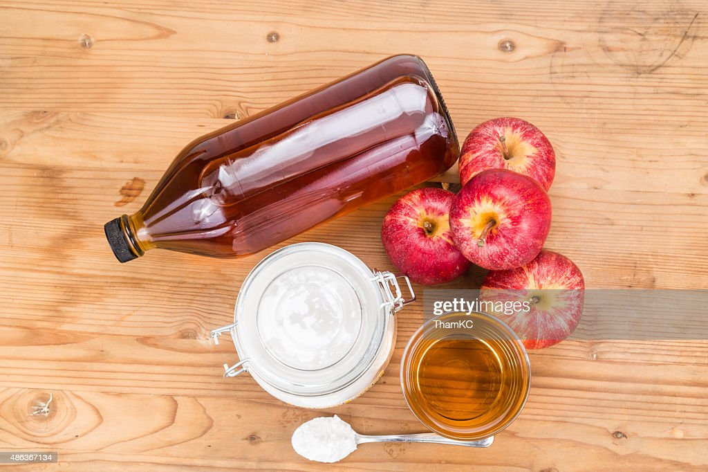 Apple Cider Vinegar And Baking Soda Combination For Acid