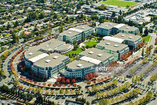 apple computer headquarters - apple computers stock pictures, royalty-free photos & images