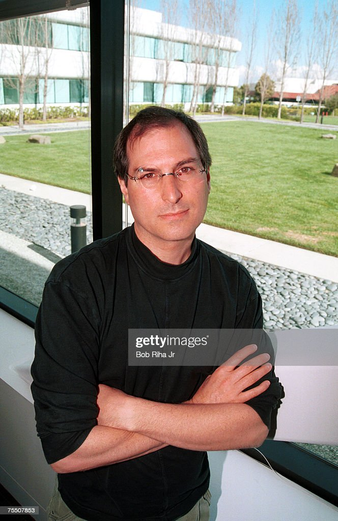 Steve Jobs 1996 Portrait Session by Bob Riha