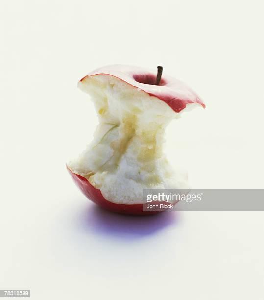 Apple Core on White