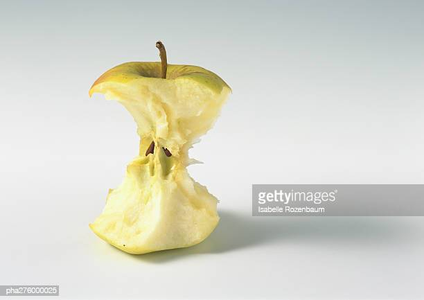 apple core - core stock pictures, royalty-free photos & images