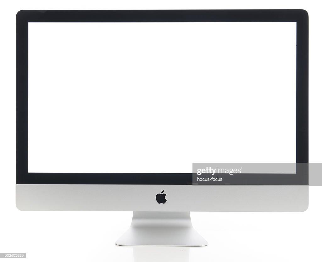 Apple iMac de 27 polegadas, computador : Foto de stock