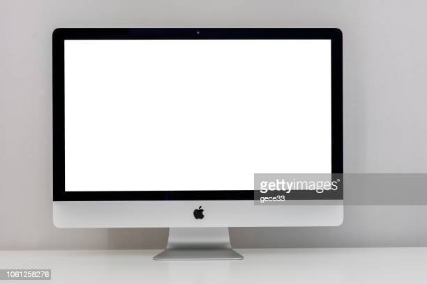 apple imac - 2019 stock pictures, royalty-free photos & images