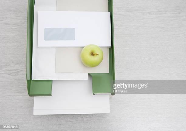 apple in in-tray