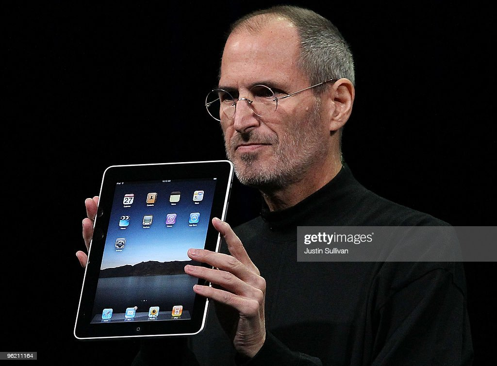 Apple Announces Launch Of New Tablet Computer : News Photo