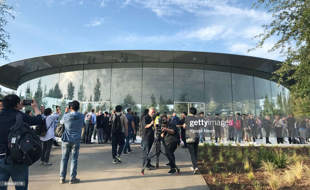New Steve Jobs Theater hosts iPhone launch event : News Photo