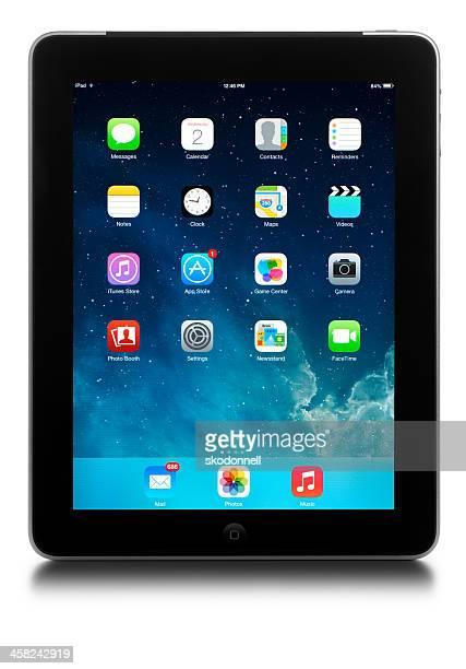 apple ios7 - sistema operativo - fotografias e filmes do acervo