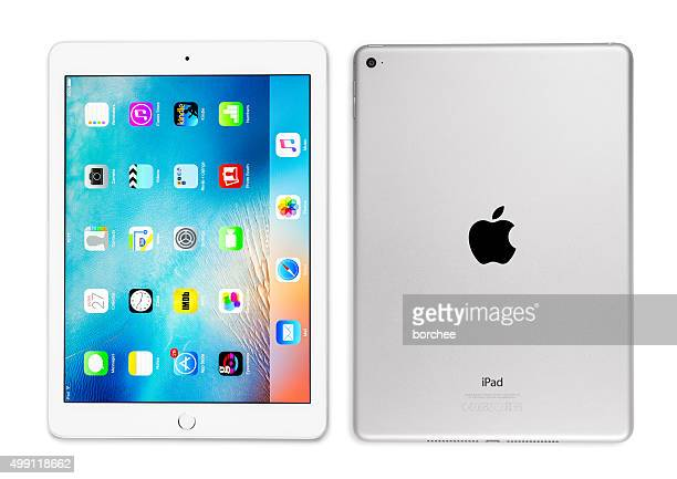 Apple iPad Air 2 Silver Front And Back Side