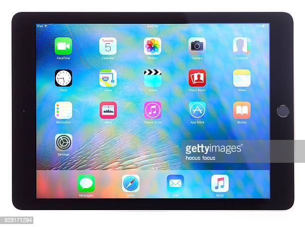 Apple iPad Air on white background