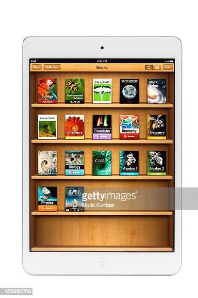 Apple iPad Mini with Textbooks