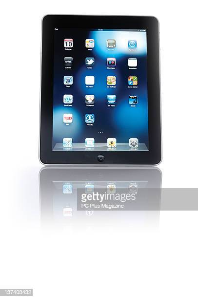 Apple iPad tablet computer session for PC Plus Magazine taken on December 10 2010