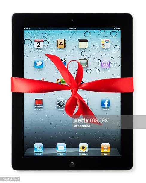 Apple iPad with Red Bow
