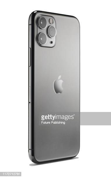 Apple iPhone 11 Pro smartphone with triple 12megapixel Ultra Wide Wide and Telephoto cameras and a Space Grey finish taken on September 20 2019
