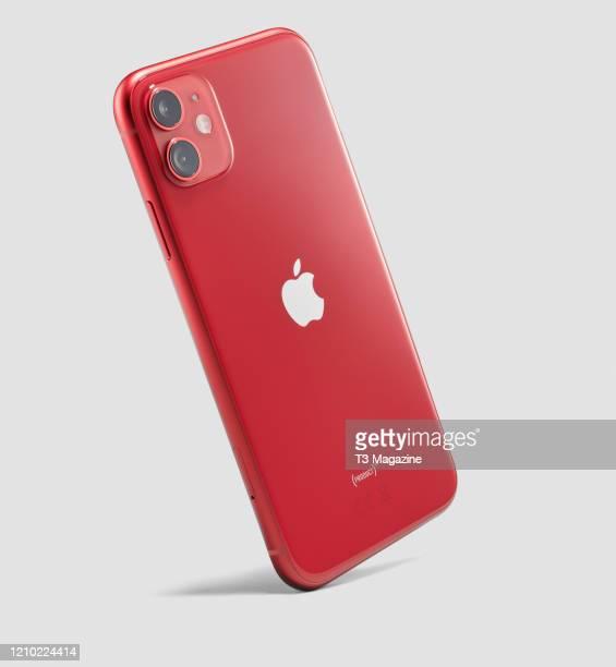 Apple iPhone 11 smartphone, taken on October 1, 2019.