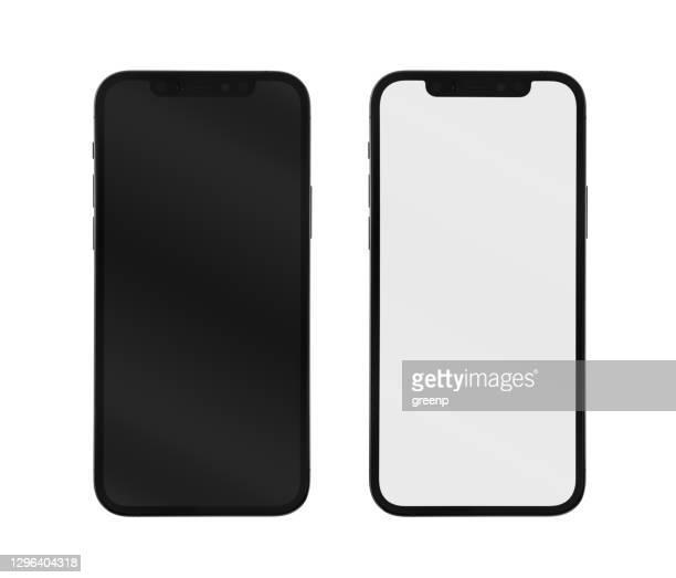 アップルのiphone 12プロ、白い背景に隔離 - iphone 12 ストックフォトと画像