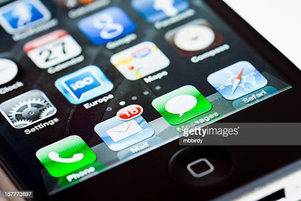 Apple iPhone 4 apps Symbole