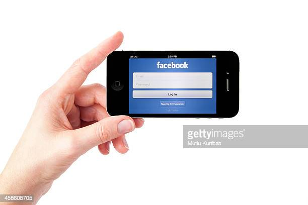 Apple iPhone 4S Black with Facebook