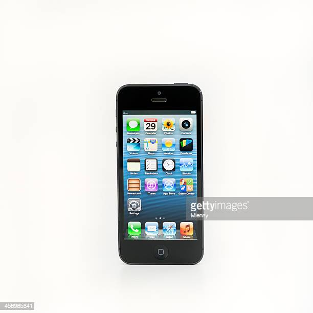 apple iphone 5 - mlenny stock pictures, royalty-free photos & images