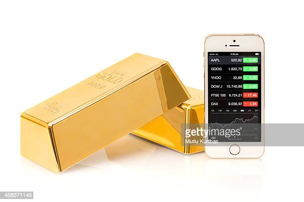 Apple iPhone 5S with Gold Block