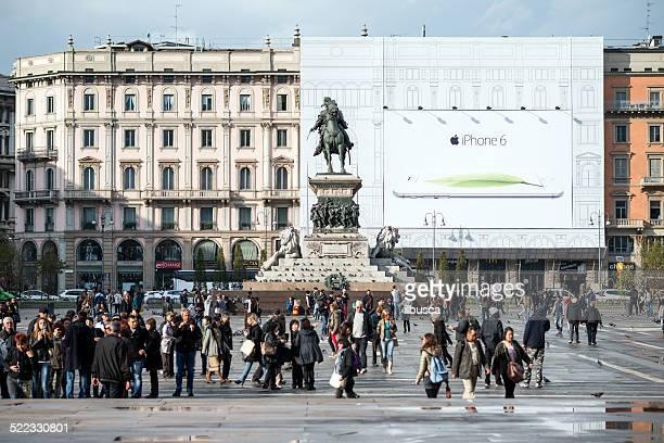 Apple iPhone 6 Tabellone a Milano centro città
