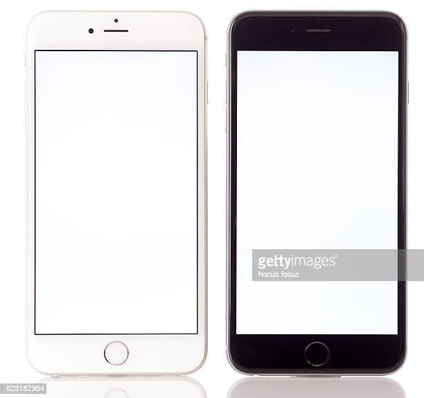 Apple iPhone 6 Plus noir et blanc