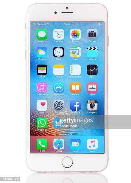 Apple iPhone 6 Plus on white background