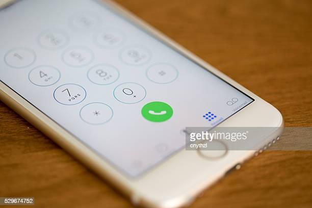 Apple iPhone 6S Dialer Screen