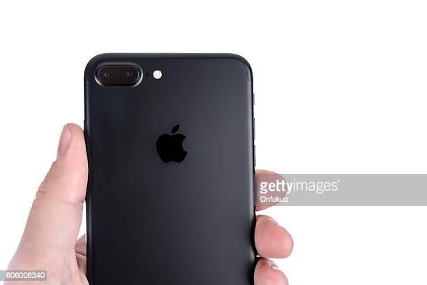 Apple iPhone 7 Plus Mat Black Dual Lens Camera