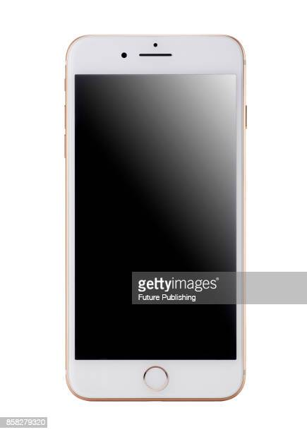 Apple iPhone 8 smartphone with a Gold finish taken on September 28 2017