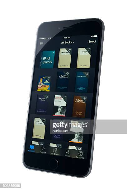 Apple iPhone  :   iBooks application.