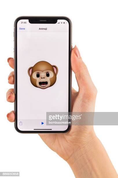Apple iPhone X Animoji Holding Hand