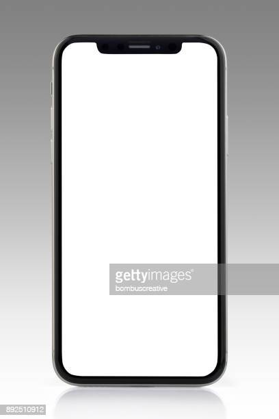 Apple iPhone X Silver White Blank Screen