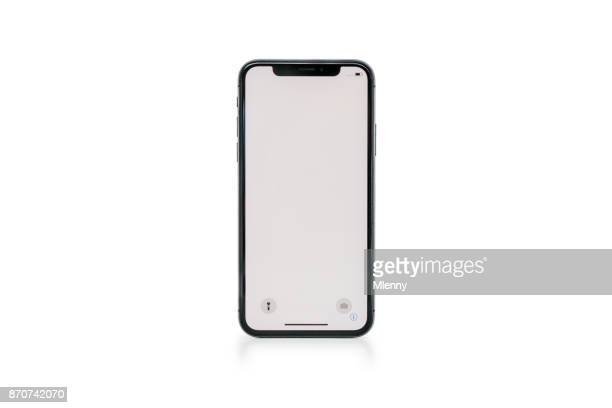 Apple iPhone X Space Grey White Blank Screen